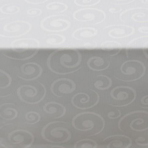 Fata de masa Harvard, poliester, alb, anti-pata, 150 x 120 cm