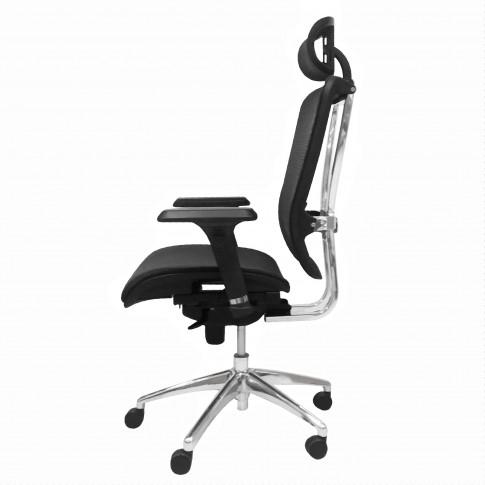 Scaun birou ergonomic LA-869H, mesh, negru