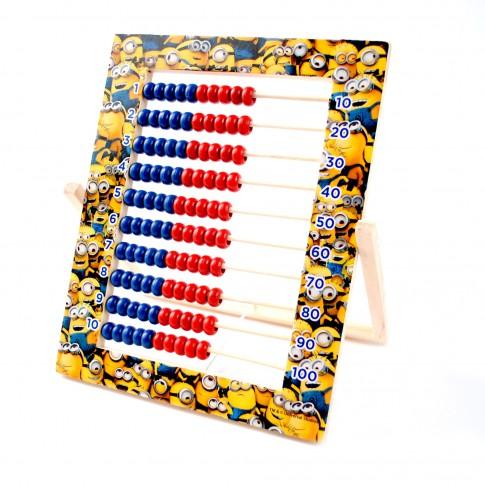 Numaratoare 100 bile, 21.5 x 24 x 1 cm, diverse modele