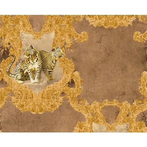 Tapet vlies, model animale, AS Creation Hermitage 10 335433, 10 x 0.53 m
