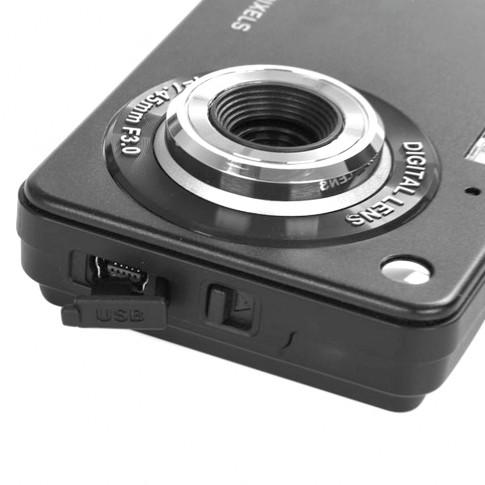 Camera foto digitala PNI Explorer M1, 18 MP, inregistrare HD, display LCD, 2.7 inch, zoom 8x, negru