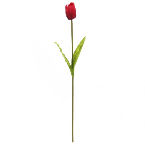 Floare artificiala H051, rosie, 78 cm