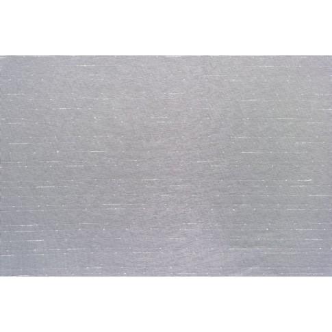 Perdea Linea, poliester, fir de plumb, crem, H 290 cm