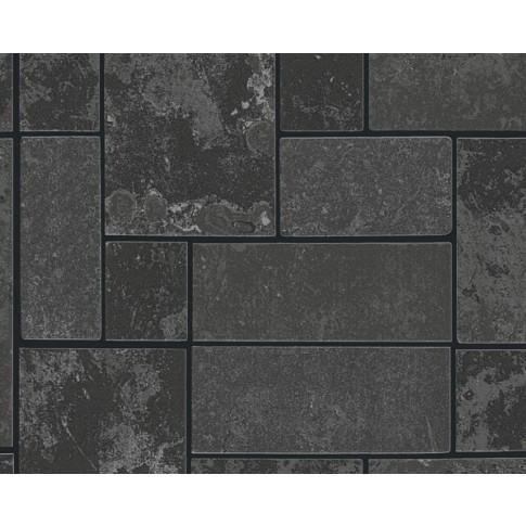 Tapet hartie, model caramida, AS Creation H2O 347793, 10 x 0.53 m