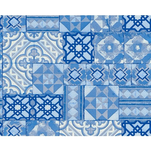 Tapet hartie, model mozaic, AS Creation Il Decoro 343003, 10 x 0.53 m