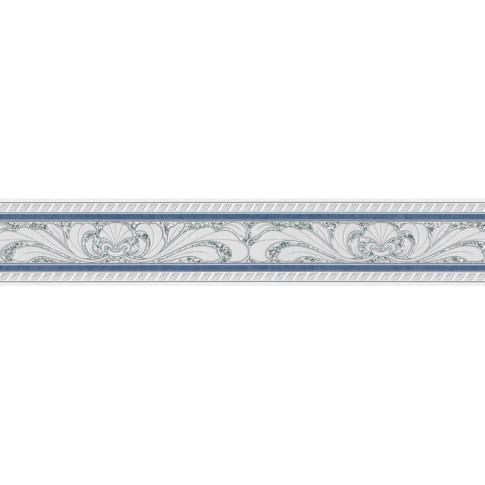 Bordura tapet vlies, model floral, AS Creation Only Borders 9 681645, 5 x 0.10 m