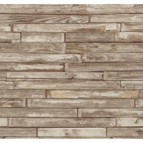 Tapet hartie, model lemn, P+S International Papierverschnitt 0554540 10 x 0.53 m