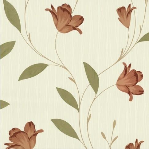 Tapet hartie, model floral, P+S International Memphis 1809940 10 x 0.53 m