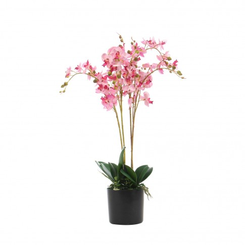 Floare artificiala JWP361, roz, 60 cm