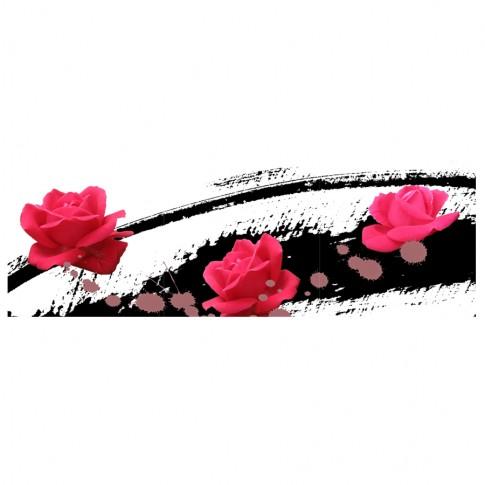 Tablou 3 piese, TA17-PYK17007, canvas, stil floral, 30 x 30 cm