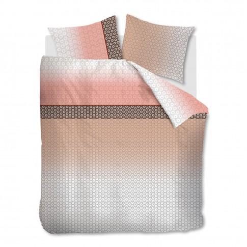 Lenjerie de pat, Mare Nude, 2 persoane, bumbac 100%, roz, 4 piese