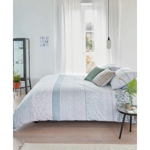 Lenjerie de pat, 2 persoane, Mary Lou, bumbac 100%, 4 piese, multicolor