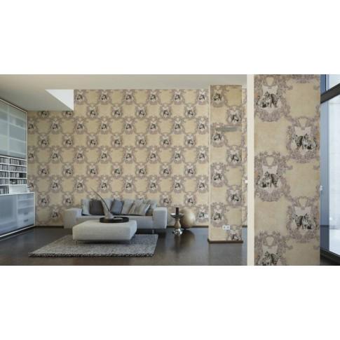 Tapet vlies, model animale, AS Creation Hermitage 10 335432, 10 x 0.53 m