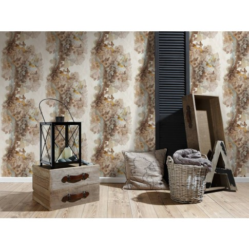 Tapet vlies, model floral, AS Creation SN Collection 3 344514 10 x 0.53 m