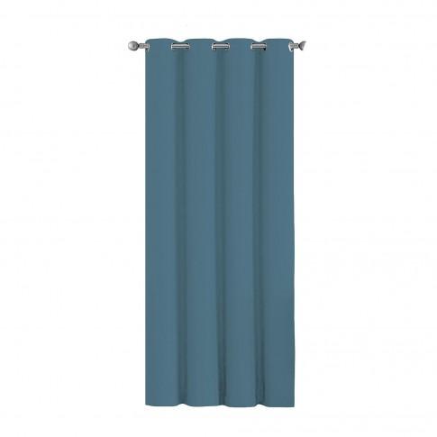 Draperie Blackout, poliester, albastru, l 135 cm, H 245 cm