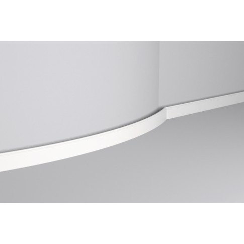 Plinta decorativa poliuretan FL1 Flex, clasic, alba, 200 x 8 x 1.2 cm