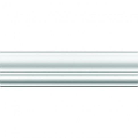 Bagheta decorativa polistiren BG-LX155, clasic, alba, 200 x 14.5 x 15.5 cm