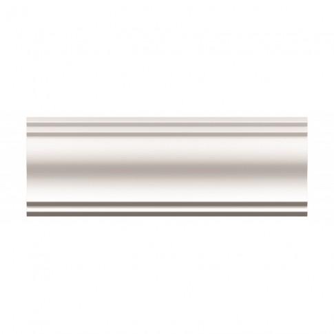 Bagheta polistiren decorativa NMC BG-LX165 clasic alb 200 x 10 x 10 cm