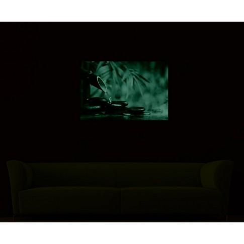 Tablou dualview DTB7240, Pietre zen, canvas + lemn de brad, 60 x 90 cm
