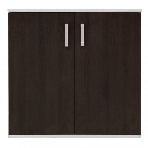 Comoda dormitor Raul, gri A480 + sonoma dark, 70 x 71 x 40 cm, 2C