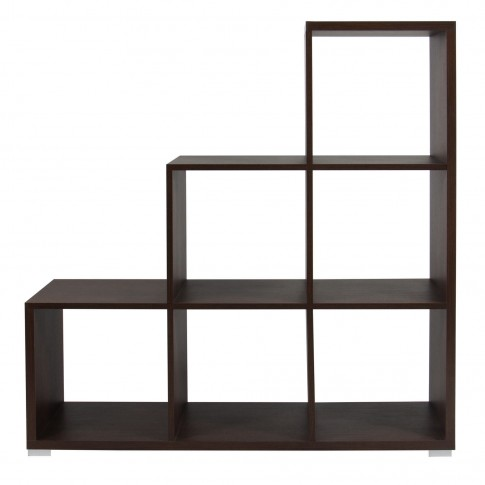 Etajera 8, PAL, sonoma dark, 113.5 x 33.5 x 115 cm, 2C