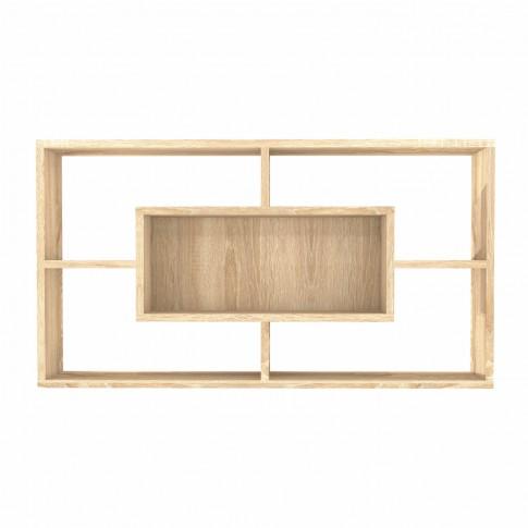Polita 5, PAL, perete, stejar bardolino, 92 x 17 x 50 cm, 2C