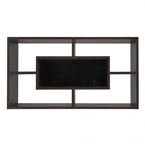 Polita 5, PAL, perete, sonoma dark, 92 x 17 x 50 cm, 2C