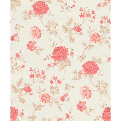 Tapet fibra textila, model floral, Grandeco Via Veneto VV3111, 10 x 0.53 m