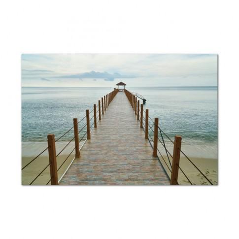 Tablou, peisaj marin, canvas, 60 x 90 cm