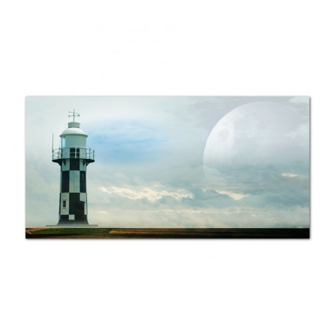 Tablou, peisaj, canvas, 20 x 40 cm