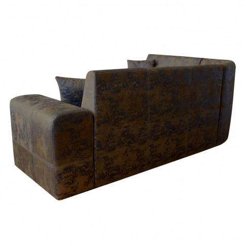 Coltar living extensibil pe stanga / dreapta New York, cu lada, maro, 270 x 220 x 90 cm, 4C