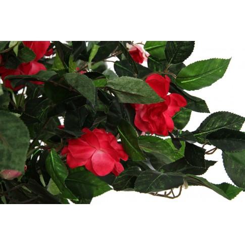 Floare artificiala JWT2239, rosie, 125 cm