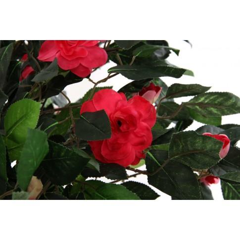 Floare artificiala JWT2172, rosie, 120 cm