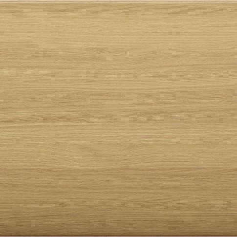 Masa bucatarie fixa Cristina 0109TA20EK, dreptunghiulara, 8 persoane, natur + alb, 200 x 100 x 75 cm, 2C