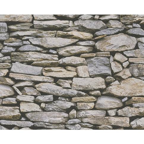 Tapet hartie, model piatra, AS Creation Dekora Natur 6 958202, 10 x 0.53 m