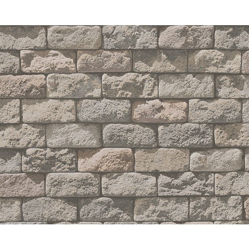 Tapet hartie, model caramida, AS Creation Dekora Natur 6 958342, 10 x 0.53 m