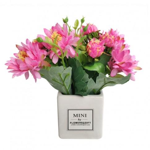 Floare artificiala CFP-22, roz, 20 cm