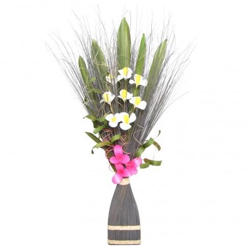 Flori uscate, 218 AR 8244, 100 cm, gri