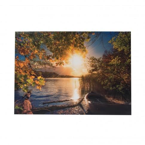 Tablou, peisaj, canvas,  panza, 50 x 70 cm