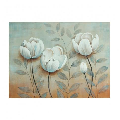 Tablou canvas 318 DED-189275, compozitie cu flori, panza + sasiu lemn, 60 x 80 cm