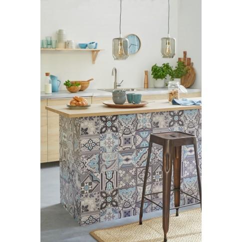 Tapet hartie, model faianta, D-c-Fix Ceramics Simenta 0169-270, 0.675 m