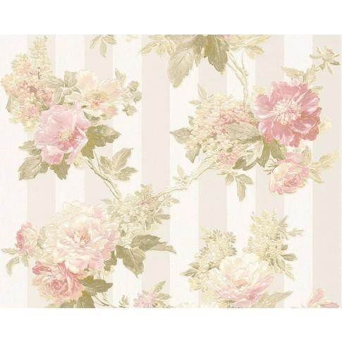 Tapet vlies, model floral, AS Creation Romantica 3 304461, 10 x 0.53 m