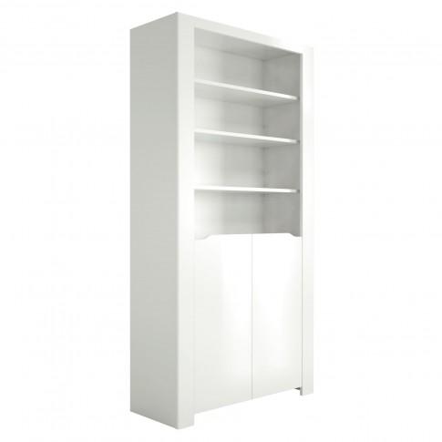 Corp biblioteca Orlando 0147BIBLK, alb, 92 x 36 x 180 cm, 2C