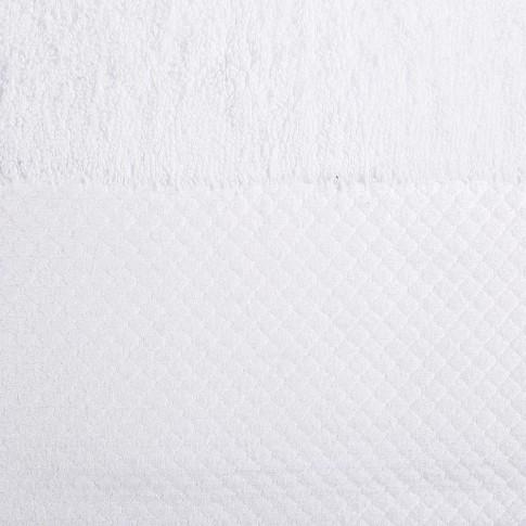 Prosop baie Spa Luxury, bumbac, alb, 50 x 90 cm