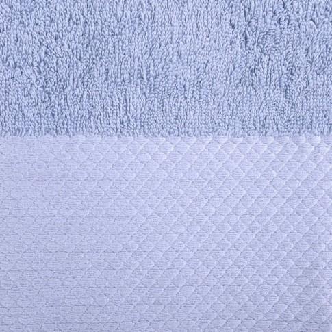 Prosop baie Spa Luxury, bumbac, albastru, 50 x 90 cm