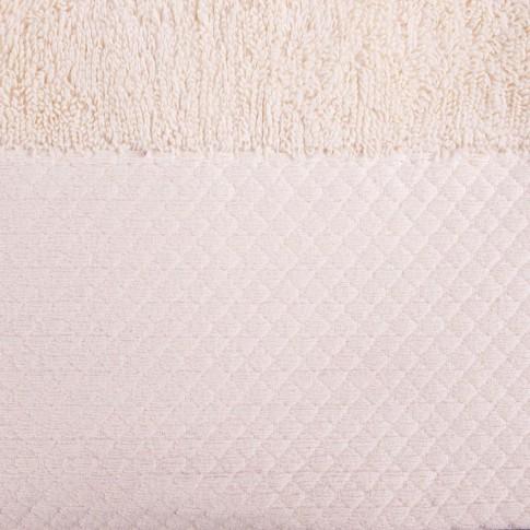 Prosop baie Spa Luxury, bumbac, bej, 30 x 50 cm