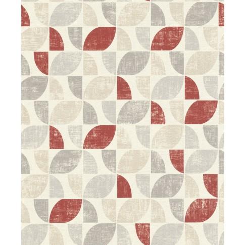 Tapet fibra textila, model geometric, Rasch Selection 519822, 10 x 0.53 m