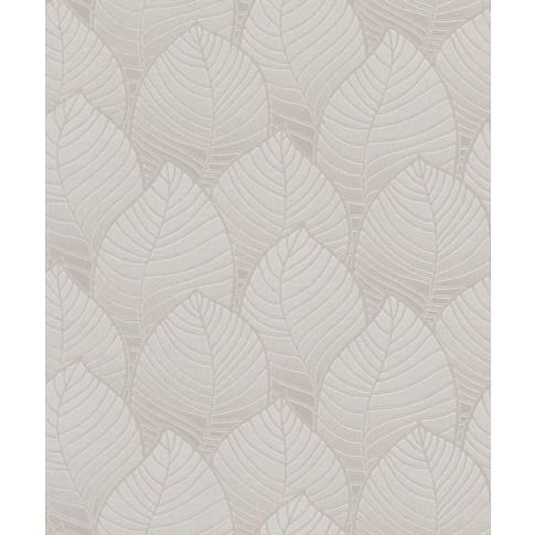 Tapet fibra textila, model frunze, Grandeco Orion ON3003, 10 x 0.53 m