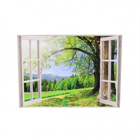 Tablou canvas FT19WIS2, peisaj, pe panza, 50 x 70 cm