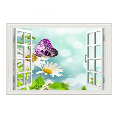 Tablou TA19-PA0063, compozitie cu flori, canvas, 50 x 70 cm